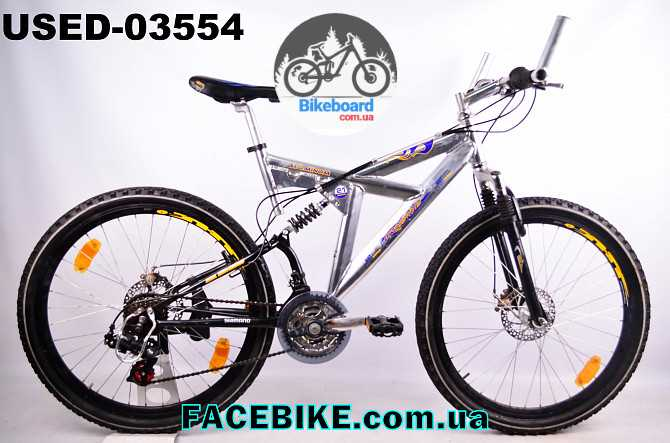 Купить БУ Горный велосипед Crosswind OutDoor - Двухподвесные ... 706c60f42296a
