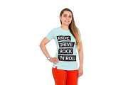 Футболка женская Ride drive rock&roll - S доставка из г.Kiev