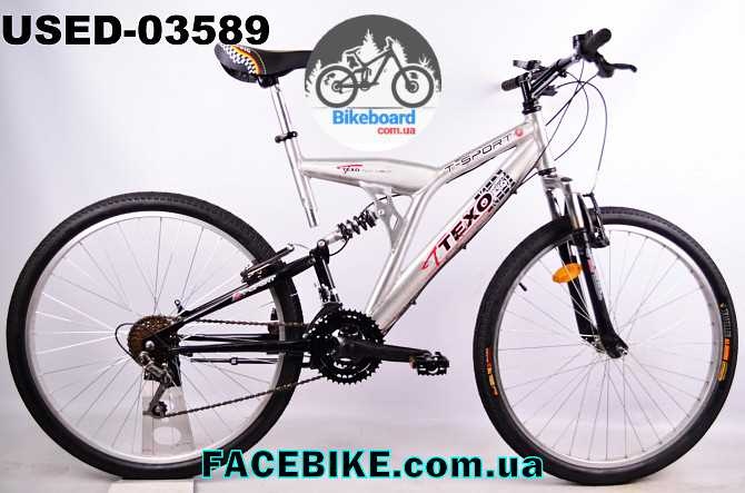 Купить БУ Горный велосипед Texo T-Sport - Двухподвесные велосипеды ... 3dad3cabba321