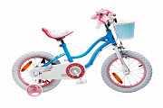 Детский велосипед RoyalBaby STAR GIRL 16 Синий доставка из г.Kiev