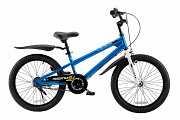 Детский велосипед RoyalBaby FREESTYLE 18 Синий доставка из г.Kiev