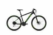 """Горный Велосипед Ghost Kato 4.7 27, 5"""", рама L, черно-зеленый, 2020 доставка из г.Kiev"""