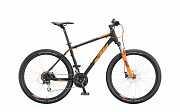 """Горный Велосипед KTM CHICAGO DISC 27"""", рама M, черно-оранжевый, 2020 доставка из г.Kiev"""