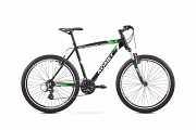 """Горный Велосипед ROMET 17 Rambler 26"""" 3 зелено-білий 18M доставка из г.Киев"""