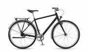 """Городской Велосипед Winora Lane men 28"""" 7 s. Nexus FW, рама 56, черный матовый, 2020 доставка из г.Kiev"""