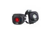 Комплект мигалок передняя+задняя Knog Blinder Mini Dot Twinpack 20/11 Lumens доставка из г.Kiev