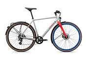 Гибридный Велосипед Orbea Carpe 25 20 L White-Red доставка из г.Kiev