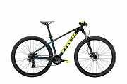 """Горный Велосипед Trek 2021, Trek Marlin 5 29"""" чёрно-зелёный L M ML доставка из г.Kiev"""