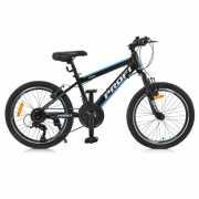 Велосипед 20 G20FIFA A20.1 PROF1, Черно-голубой доставка из г.Odessa