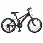 Велосипед 20 G20VEGA A20.2 PROF1, Черно-розовый доставка из г.Odessa