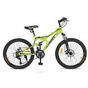 Велосипед 24 G24DAMPER S24.4 PROFI, Салатовый доставка из г.Odessa