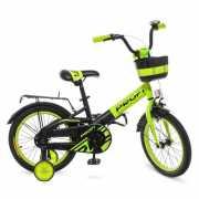 Велосипед детский PROF1 18 W 18115-6 PROFI, Original, зелено-черный доставка из г.Odessa