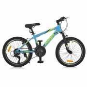 Велосипед 20 G20PLAIN A20.2 PROF1, Голубой доставка из г.Odessa