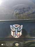 Наклейка на авто, мото Трансформер Автобот, Десептикон доставка из г.Boryspil'