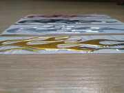 Наклейка на авто Огонь выпуклая на авто-мото доставка из г.Boryspil'
