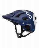 Шолом велосипедний POC Tectal Race Spin M/L 54-60 Lead Blue/Hydrogen White Matt доставка из г.L'viv