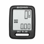 Велокомп'ютер Sigma Sport BC 5.16 Чорний доставка из г.L'viv
