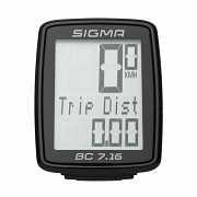 Велокомп'ютер Sigma Sport BC 7.16 Чорний з білим доставка из г.L'viv