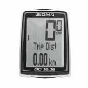 Велокомп'ютер Sigma Sport BC 16.16 Чорний з білим доставка из г.L'viv