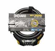 Велозамок кодовий Onguard 8031L DOBERMAN 240см х 12мм Чорний доставка из г.L'viv