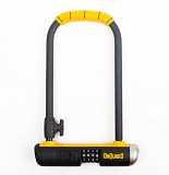 Велозамок кодовий Onguard U-lock 8010C BULLDOG COMBO STD 115x230 Чорний з жовтим доставка из г.L'viv