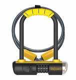 Велозамок кодовий Onguard U-lock 8015C COMBO Mini DT 90x140 Чорний з жовтим доставка из г.L'viv