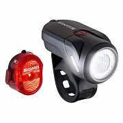 Комплект велосвітла Sigma Sport Aura 35 / Nugget II K-Set USB Чорний доставка из г.L'viv