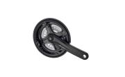 Шатун Prowheel AL 24/34/42Tx170мм, чорний, ТА-СМ68 доставка из г.Kiev