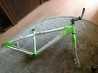 Алюминиевая рама с вилкой, кареткой, рулевой, выносом и рулем