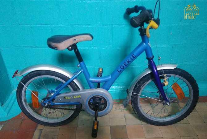 Продам фирменный Немецкий Cr-Mo велосипед Loekie COOL на4-7лет сШвейцарии Kiev - изображение 1