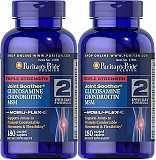 Puritan's Pride Triple Strength Glucosamine Chondroitin&MSM 180 tab доставка из г.Irpin