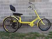 Трехколесный велосипед для взрослых, инвалидов, полных людей Kiev