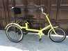 Трехколесный велосипед для взрослых, инвалидов, полных людей