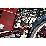 Электровелосипед трехколесный грузовой HAPPY 2020 + реверс доставка из г.Odessa