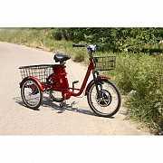 Электровелосипед трехколесный грузовой 3-CYCL + реверс доставка из г.Odessa