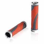 Новые Ручки/Грипсы на велосипед XLC GR-S22 'Sport bo', красно-серые доставка из г.Kiev