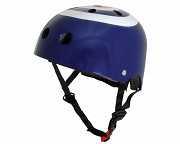 Шлем детский Kiddimoto синяя мишень, размер S 48-53см доставка из г.Kiev
