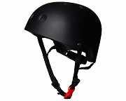 Шлем детский Kiddimoto чёрный матовый, размер M 53-58см доставка из г.Kiev