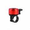 Звонок Green Cycle GBL-02A красный 35мм